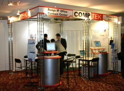 стенд нашего партнера компании CompTek